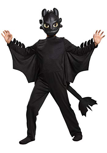 How to Train Your Dragon Toothless Classic Costume Kid's Size 10/12
