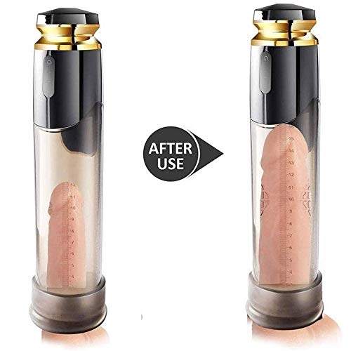 Great Deal! LIUWEI Men's USB Charging Electric Vacuum Pump Intensifier Pēnīs Vacuum Pump Men's Sex...