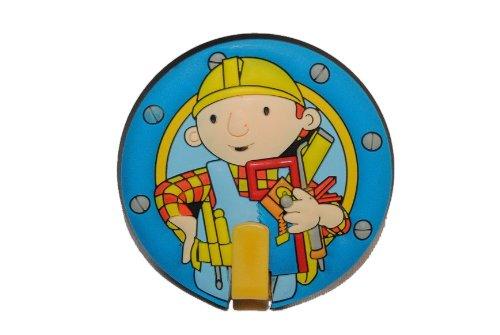 alles-meine.de GmbH Garderobenhaken Bob der Baumeister Kleiderhaken Kinder mit Haken Garderobe Garderobehaken Werkzeug