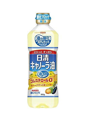 日清キャノーラ油 600g