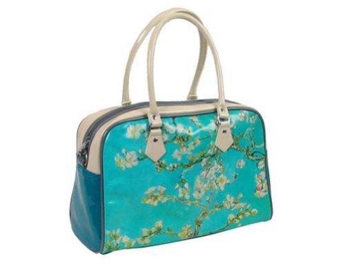 Official Van Gogh Museum Amsterdam - Bowling Bag Almond Blossom - Handtasche - Material: Kunstleder - Mandelblüte von Vincent van Gogh