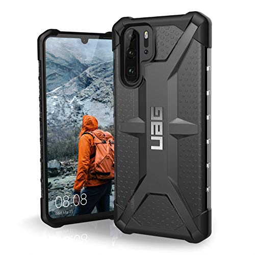 URBAN ARMOR GEAR UAG Designed for Huawei P30 Pro [6.47-inch screen] Plasma Feather-Light Rugged [Ash] Military Drop Tested Phone Case
