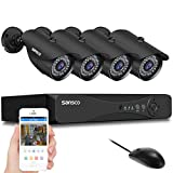 SANSCO True 1080p CCTV Surveillance Security Camera System, 8 Channel 1080p DVR