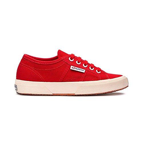 Superga 2750 COTU CLASSIC, Sneaker Unisex - Adulto, Rosso (Red 975), 35 EU