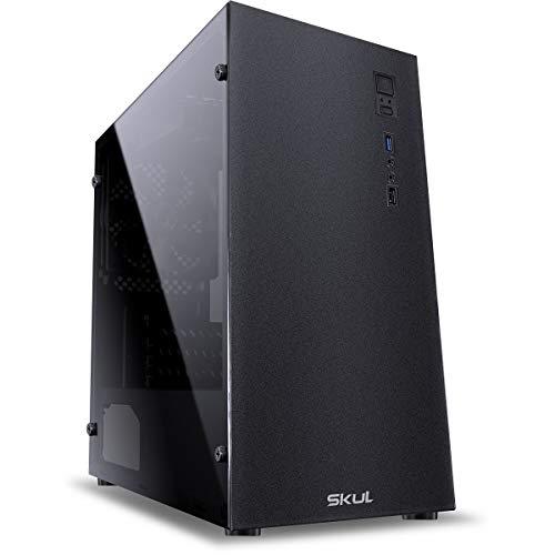 COMPUTADOR BUSINESS B500 - WORKSTATION XEON E-2124G 3.4GHZ 8GB DDR4 SSD 480GB FONTE 500W - SKUL Preto