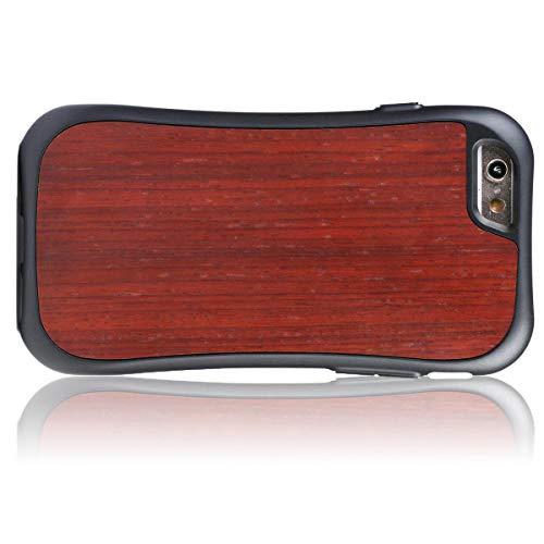 WOLA für iPhone 6 / 6s Holzhülle Wood Handyhülle Padouk