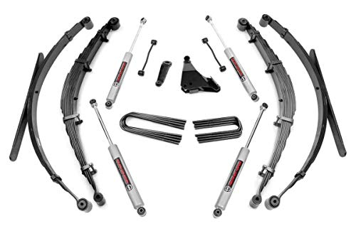 Rough Country 6' Lift Kit (fits) 1999-2004 Super Duty F250 F350 4WD includes N3 Shocks Suspension System 49730