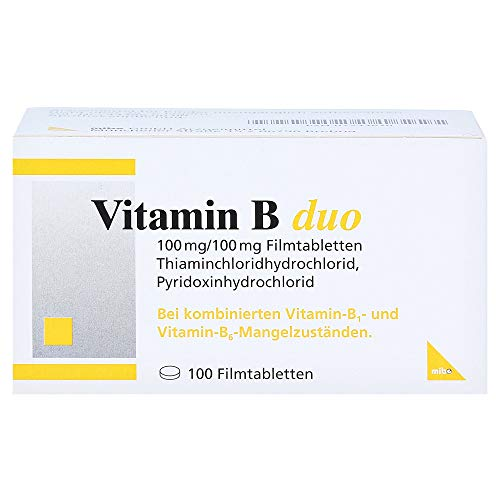 Vitamin B Duo Filmtabletten, 100 St