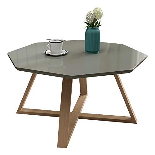 NA Thee tafel, eenvoudige woonkamer creatieve witte salontafel, slaapkamer nachtkastje, kleine vierkante bijzettafel