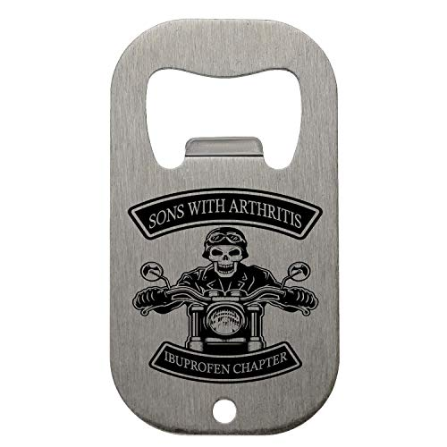 KRISSY Sons with Arthritis Ibuprofen Chapter Ibuprofen Chapter Flaschenöffner Bottle Opener