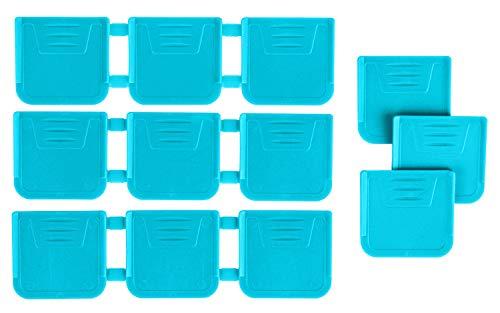 ArtBin 3712AG Zerust 12-Pack, Art & Craft Organization with Anti-Tarnish Technology, [12] Dividers, Aqua
