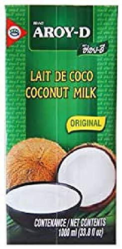 AROY-D Leche de Coco (UHT) 17,5% degrasa 12x1 Ltr
