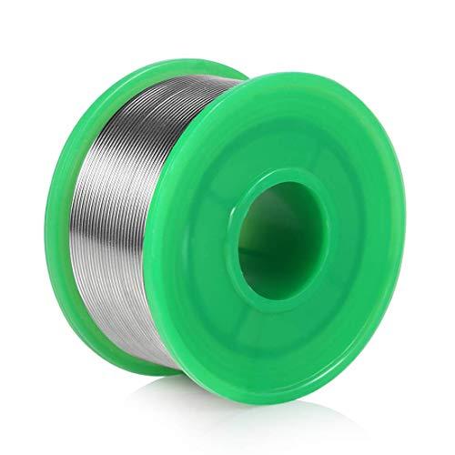 0.8 mm Hilo de Soldadura Electronica sin Plomo con Núcleo de Resina, LYLIN Cable de soldadura Estaño Cable Sn99.3% Cu0.7% para Soldadura Eléctrica y DYI (100 g)