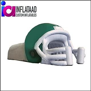 Inflata Ad Inc. Football Helmet Tunnel Green White