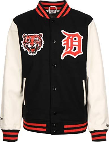 New Era - MLB Detroit Tigers Cooperstown Jacke - Schwarz Farbe Schwarz, Größe S