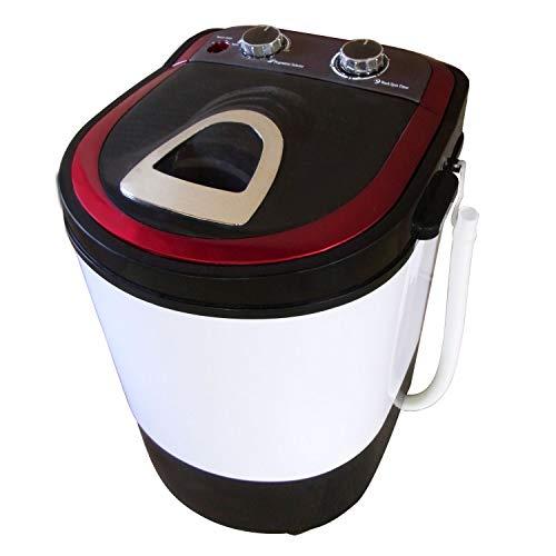 SunRuck サンルック 小型洗濯機 自動洗濯機 洗濯容量2.0kg 脱水容量1.0kg SR-W020-RD レッド