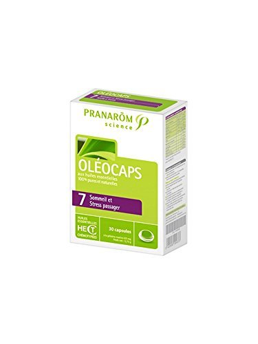 Pranarôm Science Oléocaps 7 Anti-stress & Occasional Sleeplessness 30 Capsules by Unknown