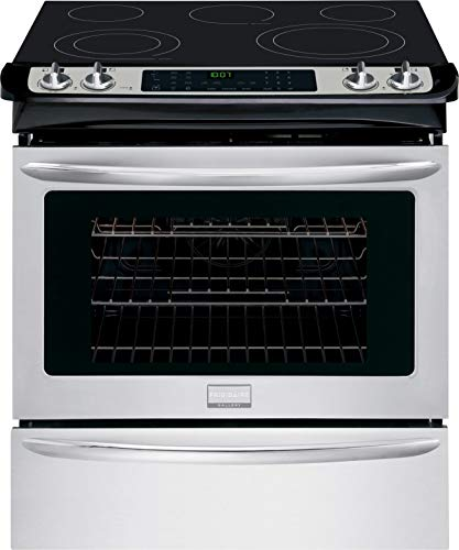 Frigidaire FGES3065PF Gallery 30' Stainless Steel Electric Slide-In Smoothtop Range - Convection
