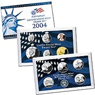 2004 S 11 Piece set Proof in original packaging from US mint Proof