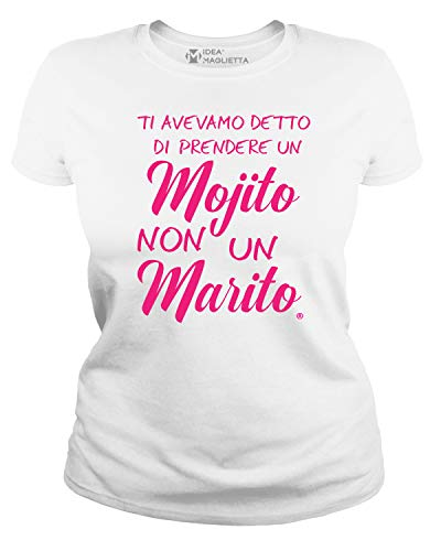 IDEAMAGLIETTA AN0002 Maglietta Addio al Nubilato (M,...