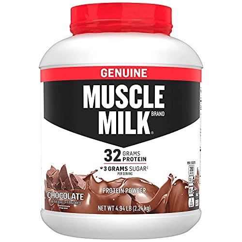 Muscle Milk Echter Eiweißpulver Schokolade 32g Protein 2,2kg 32 Portionen