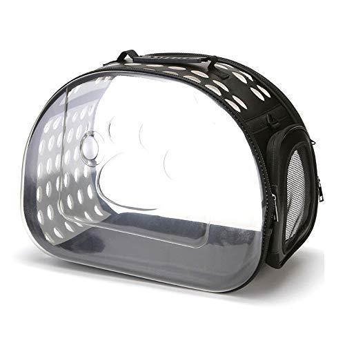 DZGN Katze Rucksack Träger, Wasserdicht Knapsack Im Freien Breathable Haustier-Tasche Transparent Rucksack Tragbare Reisetasche Für Wandern Wandern Außeneinsatz
