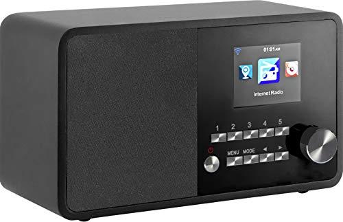 NABO Stream Star Internetradio (UPnP/DLNA,Multiroom,WiFi, Farbdisplay, Steuerung via App iOS und Android, Wetteranzeige, USB)