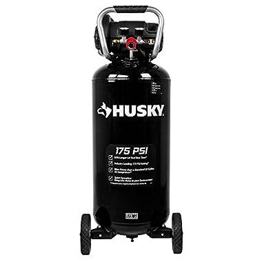 Husky 20 Gal. 175 psi Quiet Portable Air Compressor