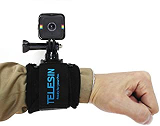 TELESIN 360 Degree Rotary Wrist Strap With Frame Mount Adapter for Polaroid Cube [並行輸入品]