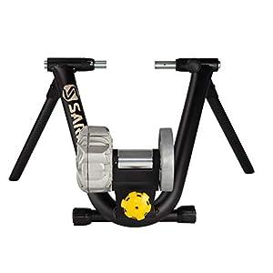 Saris Fluid2 Smart Equipped Indoor Bike Trainer, Includes Speed Sensor