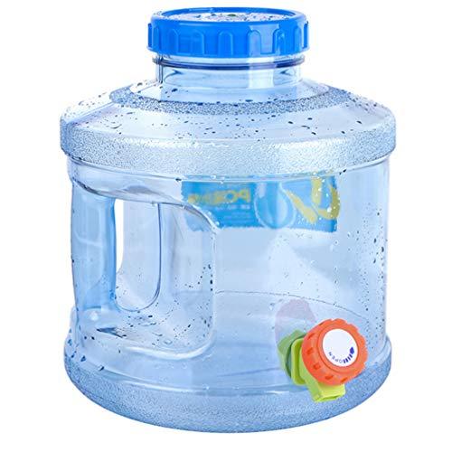 BESPORTBLE Big-Mouth-Freie Wasserflasche mit Dosierventil Weithals-Wassereimer Camping Road Trip Wasserspeicherflasche Wasserspeicher mit Großer Kapazität Und Griff 7. 5L