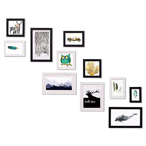 Rventric Foto de la Familia Marco de la galería de la Pared, Sistema de 11 PCS Multi Pack Cuadro Conjunto para la graduación/Nietos/Abuelo/bebé/papá