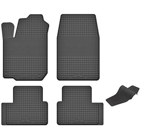 KO-RUBBERMAT Gummimatten mit Tunnel geeignet zur Ford KA I (RB) Bj. 1996-2008 ideal angepasst 5-Teile EIN Set