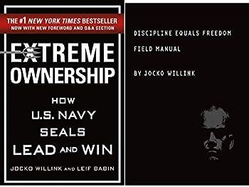 By[Jocko Willink ] Extreme Ownership & Discipline Equals Freedom 2 Books Set By Jocko Willink Paperback