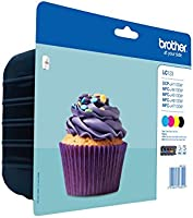 Brother LC123VALBP Multipack Ink Cartridges ...