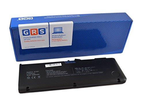 GRS Batterie pour MacBook Pro 15, MC118LL/A, MB985LL/A remplacé: A1286, A1321, 661-5211, 661-5476, Laptop Batterie 5200mAh,10,8V/58Wh