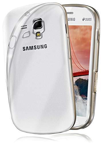 MoEx® AERO Case Transparente Handyhülle kompatibel mit Samsung Galaxy S3 Mini | Hülle Silikon Dünn - Handy Schutzhülle, Durchsichtig Klar