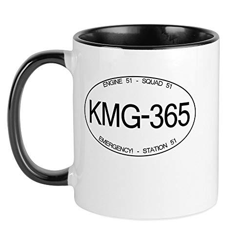 CafePress KMG 365 Squad 51 Emergency Mug Unique Coffee Mug, Coffee Cup