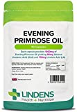 Lindens Evening Primrose Oil 1000mg Capsules | 90 Pack | UK Manufacturer by Lindens Apothecary
