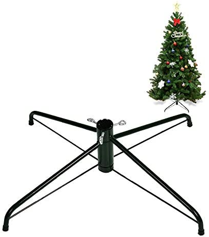 La fete Artificial Tree Replacement Stand Xmas Tree Metal Holder Base Cast Iron Stand 4 Feets product image