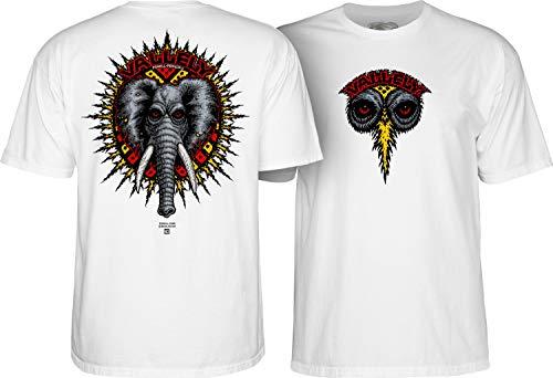 Powell Camiseta Peralta Mike Vallely Elephant Blanco XL (X-Large)