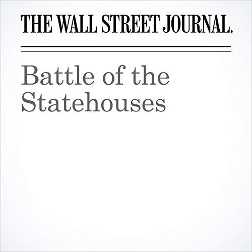 Battle of the Statehouses copertina
