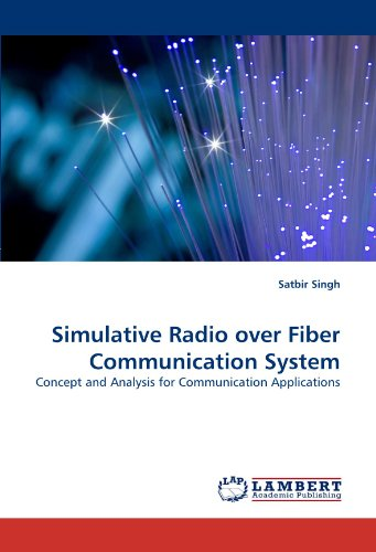 Simulative Radio over Fiber Communication System: Concept and Analysis for Communication Applications