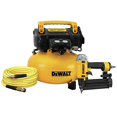DEWALT DW1KIT18PPR Heavy-Duty Compressor Combo Kit (Renewed by Manufacturer)