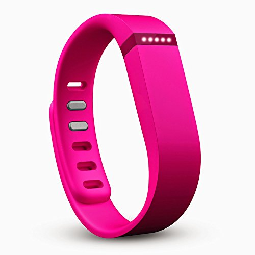 Fitbit Flex Wireless Activity and Fitness Tracker + Sleep Wristband, Pink, FB401PKRE (Non-Retail Packaging)