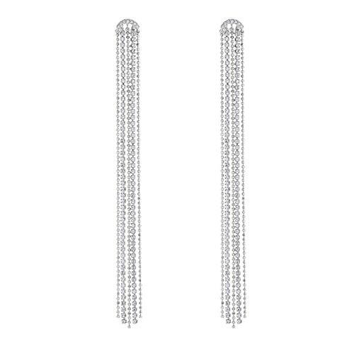 Swarovski Femme Métal rhodié Sans objet Boucles d'oreilles pendantes - 5490190
