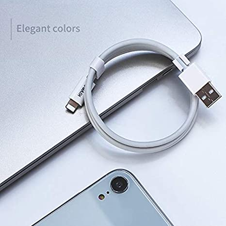 White WMD AYS KV-CT203 2A Micro to USB TPE Charging Data Cable Color : White Length: 1m