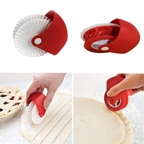 Beito 2pcs pastelería Rueda Corte Fideos Fabricante