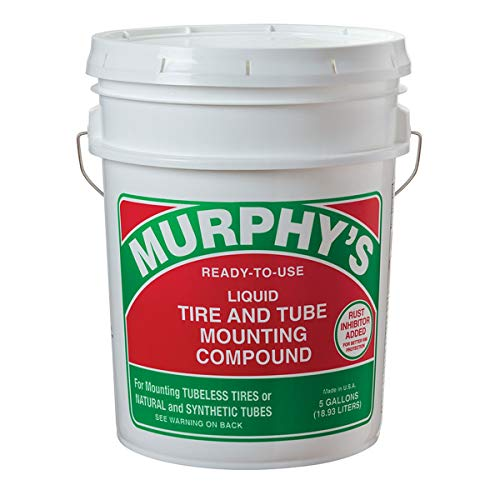 Murphy's 5-Gallon Liquid Tire & Tube Mounting Compound