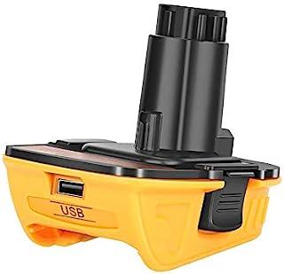 Battery Adapter Compatible with Dewalt 18V to 20V Convert DCA1820 18Volt Tools for Dewalt 20V MAX Batteries DCB205 DCB206 ...